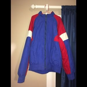 Vintage Neff Cudas Red White Blue Jacket